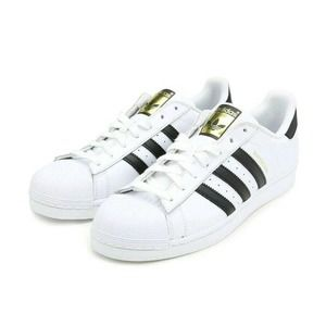 Adidas Mens Superstar Leather Low Top  19 M US